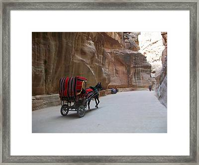 Free Ride Framed Print by Munir Alawi