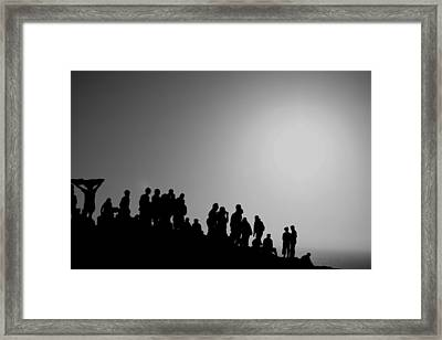 Free Time Framed Print by Gabriel Calahorra