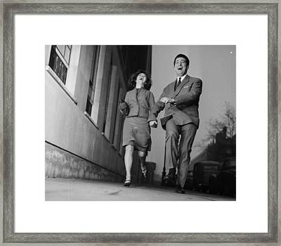 Free To Marry Framed Print by Potter