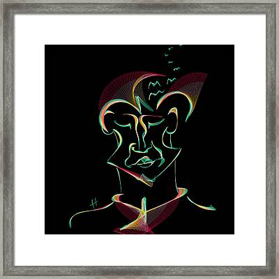 free your M Framed Print