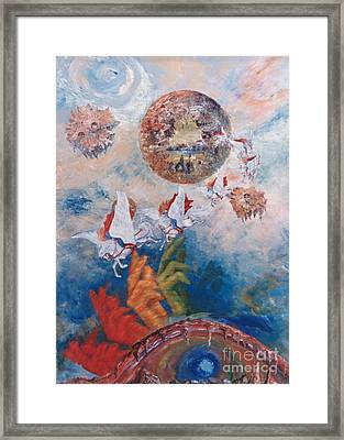 Freedom - The Beginning Of All Being Framed Print
