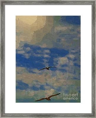 Freedom Flying Framed Print by Deborah MacQuarrie-Selib