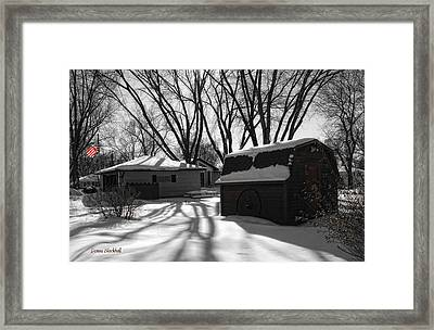 Freedom From Winter Framed Print
