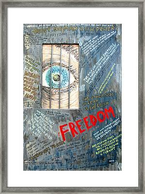 Freedom Framed Print by Ian  MacDonald