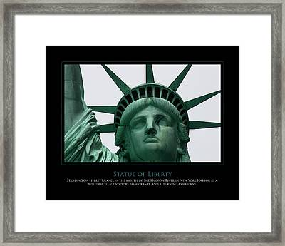 Freedom Framed Print by Jim McDonald Photography