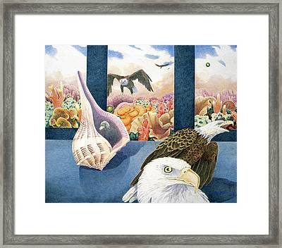 Freedom Framed Print by Kyra Belan