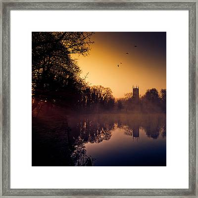 Freedom Framed Print by Martin Crush
