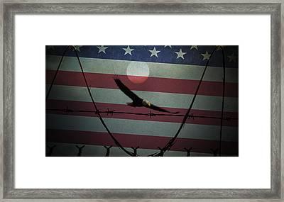 Freedom Of Speech Framed Print
