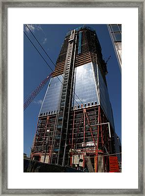 Freedom Tower 5 Framed Print by Andrew Fare