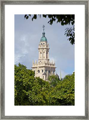 Freedom Tower Framed Print by Dieter  Lesche