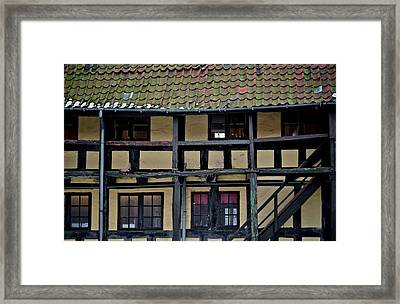 Freehand Architecture Framed Print by Odd Jeppesen