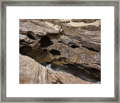 Framed Print featuring the photograph Freemont River Small Kettles by Gregory Scott