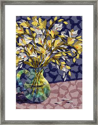 Freesia Framed Print by Marina Gershman