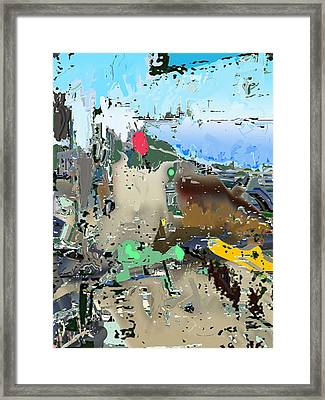 Freeviewing Framed Print by Immo Jalass
