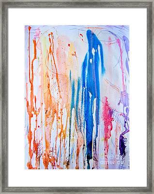 Freeze Framed Print by Bill Davis