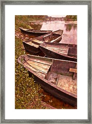 French Antiques Framed Print by Debra and Dave Vanderlaan