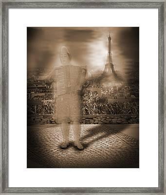 French Clown Framed Print by Liezel Rubin