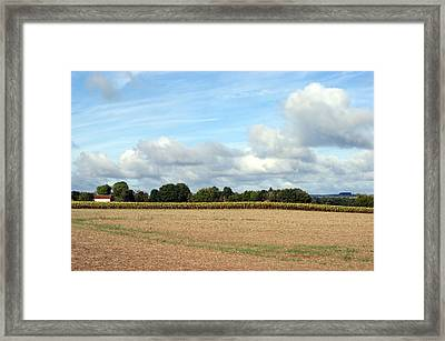 French Countryside Framed Print by Chris Boulton