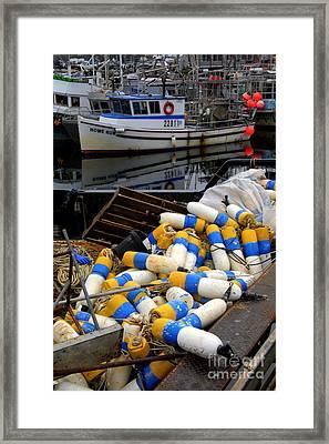 French Creek Trawlers Framed Print by Bob Christopher