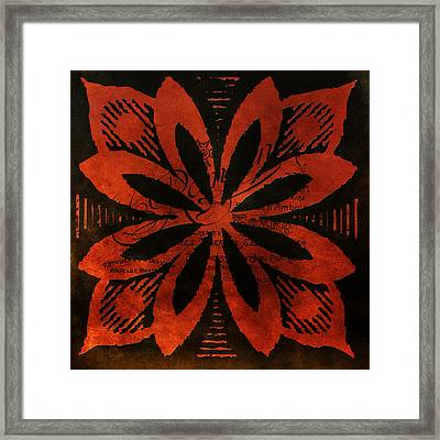 French Floral No.2 Framed Print