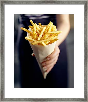French Fries Framed Print by David Munns