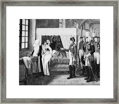 French Hospital, 19th Century Framed Print by