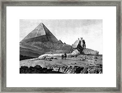 French In Egypt, 1799 Framed Print by Granger