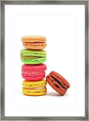 French Macaroons Framed Print by Ursula Alter