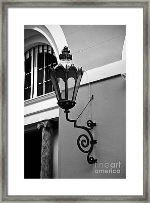 French Quarter Framed Print by Leslie Leda