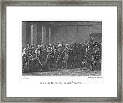 French Revolution, 1793 Framed Print
