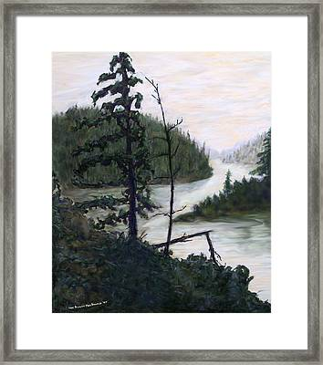 French River Country Northern Ontario Framed Print by Ian  MacDonald