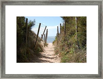 French Ruelle Framed Print by Dickon Thompson