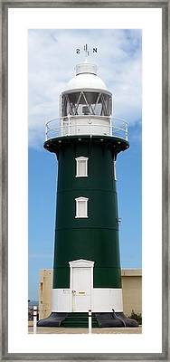 Framed Print featuring the photograph Freo Lighthouse by Roberto Gagliardi
