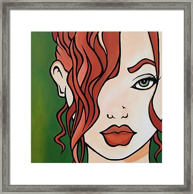 Fresh - Abstract Pop Art By Fidostudio Framed Print