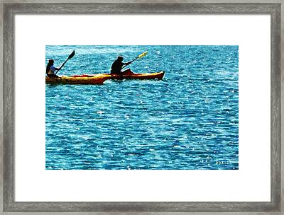 Fresh Framed Print by Brian D Meredith