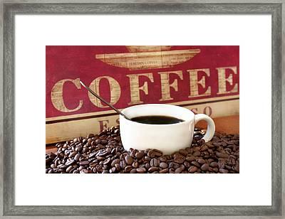 Fresh Coffee Framed Print by Darren Fisher