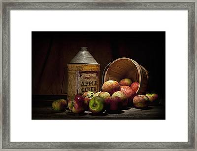 Fresh From The Orchard II Framed Print by Tom Mc Nemar