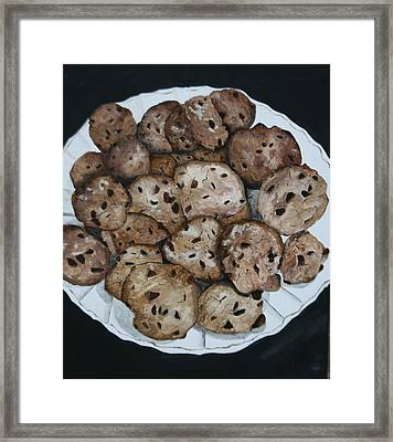 Fresh From The Oven Framed Print by Betty-Anne McDonald