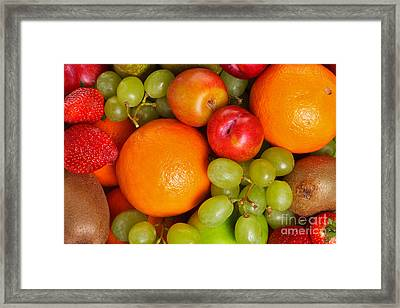 Fresh Fruit  Framed Print by Richard Thomas