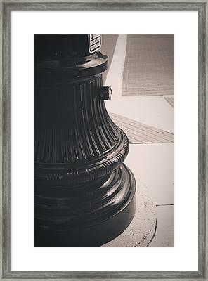 Freshly Old Framed Print by Joshua Volff