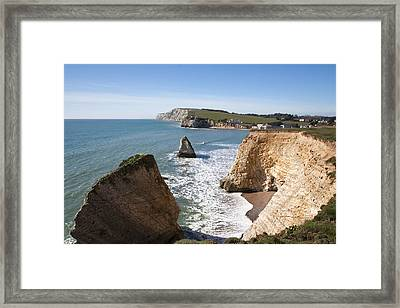 Freshwater Bay Framed Print by Shirley Mitchell