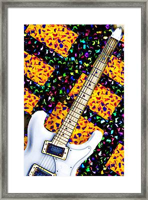 Frets Framed Print by Bill Cannon