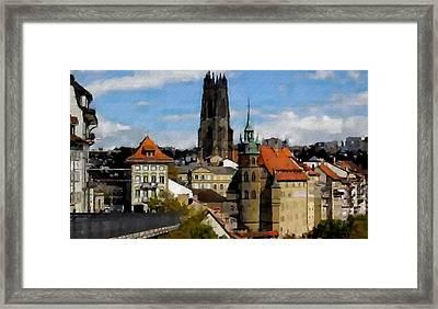 Fribourg Switzerland Framed Print