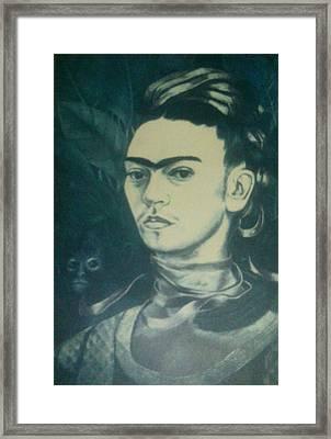 Frida Kahlo 10 Framed Print