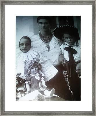 Frida Kahlo 2 Framed Print