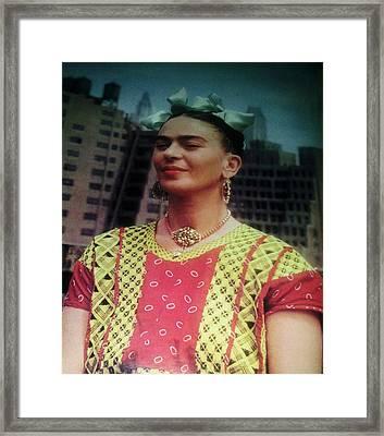Frida Kahlo 5 Framed Print