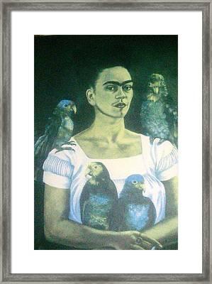 Frida Kahlo 6 Framed Print
