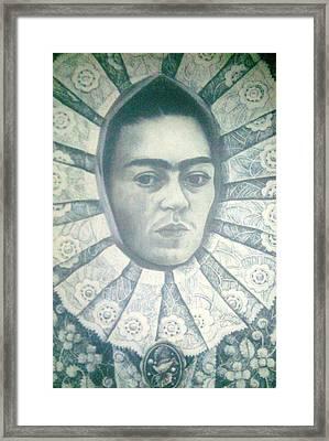 Frida Kahlo 7 Framed Print