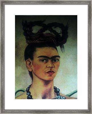 Fridah Kahlo  Framed Print