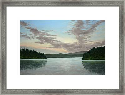 Friday Harbor Sunrise Framed Print by Carl Capps